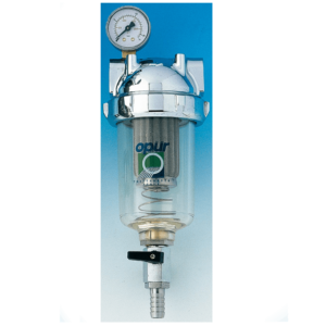 Europa Opür Self-Cleaning Filters with Inox Steel Cartridge from 25µ/60µ to 1000µ - AqaLight Milan and Monza Water Purifiers