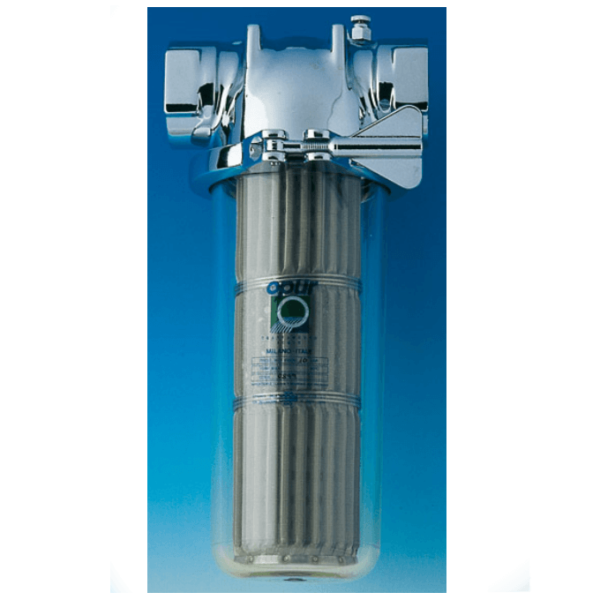 Filtri Normali Opür con Cartuccia in Acciaio Inox da 25µ/60µ a 1000µ - AqaLight Depuratori Acqua Milano e Monza